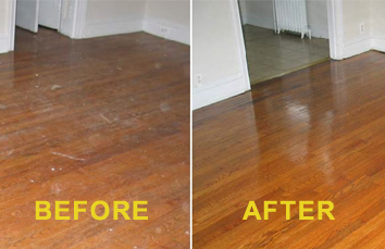 Deep Clean Wood Floors ...